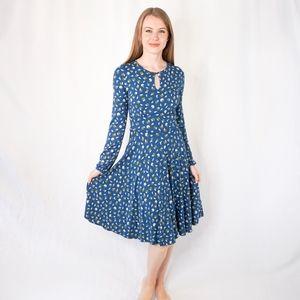 Boden Anthropologie Fruit Print Knit Dress 0749